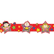 Eureka® Peanuts® Toddler - 3rd Grades Extra Wide Die Cut Deco Trim, Super Star