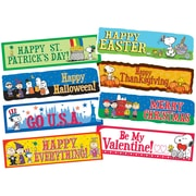 Eureka® Bulletin Board Set, Peanuts Year Of Holidays