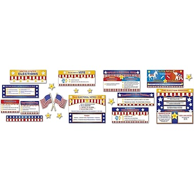 Eureka® Bulletin Board Set, Electoral Process