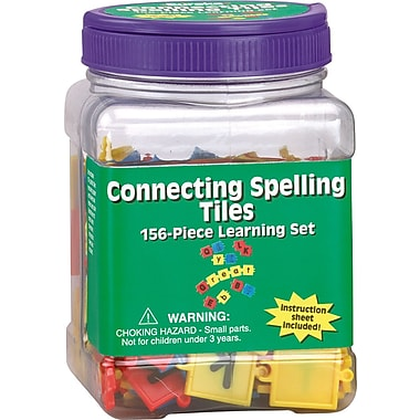 Eureka® Tub of Connecting Spelling Tiles