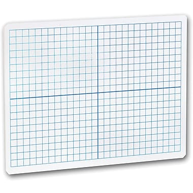 Flipside® X-Y Axis Dry Erase Board, 12in. x 9in.