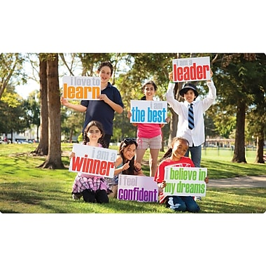 Foster Mind® Affirmation Posters For Children, Motivational