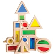 Guidecraft® Jr. Rainbow Blocks, 20 Pieces/Set