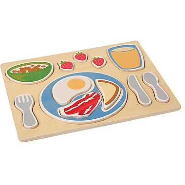 Guidecraft® Sorting Food Tray, Breakfast