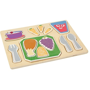 Guidecraft® Sorting Food Tray, Dinner