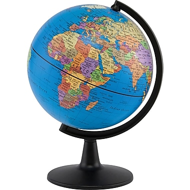 Round World Products Stellanova Political Globe, 6in.(Dia)