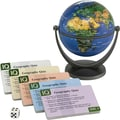 Round World Products IQ Quiz Mini Globe, Grades All