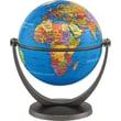 Round World Products Swivel and Tilt 4in. Blue Ocean Mini Globe, Grades Pre School - 5th