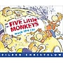 Houghton Mifflin® Five Little Monkeys Wash The Car