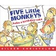 Houghton Mifflin® Five Little Monkeys Bake a Birthday Cake Book