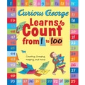 Houghton Mifflin® Curious George Learns to Count From 1 to 100 (Paperback) Book