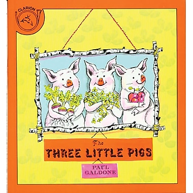 Houghton Mifflin® The Three Little Pigs Big (Hardcover) Book