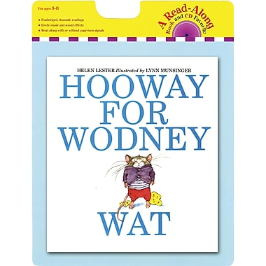 Houghton Mifflin® Hooway For Wodney Wat (Paperback) Book and CD