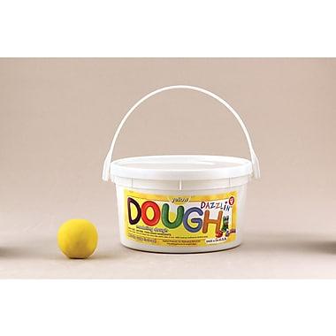 Hygloss® Yellow Scented Dazzlin' Dough, 3 lbs.