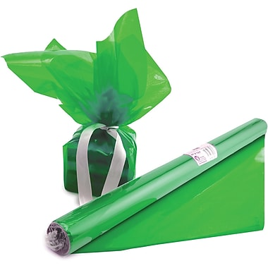 Hygloss® 12.5' x 20in. Cello Wrap Roll, Green