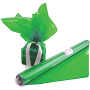 "Hygloss® 12.5' x 20"" Cello Wrap Roll, Green"