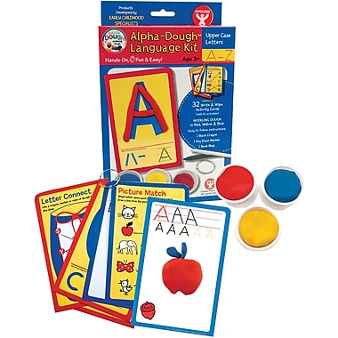Hygloss® Dazzlin' Dough Uppercase Language Kit