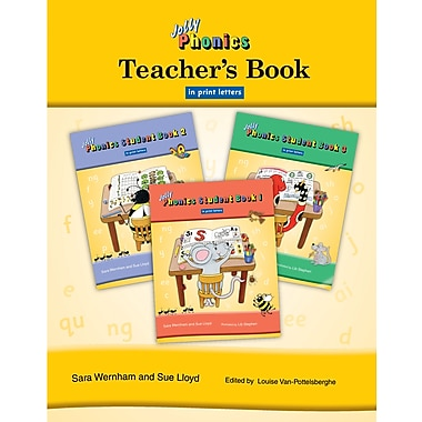 Jolly Learning Jolly Phonics Teachers Book, Grades Pre-Kindergarten - 1st