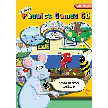 Jolly Learning Site License Jolly Phonics Games CD, Grades Toddler - 1st