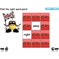 K and B Interactive Sight Word Sentence Frames IWB Software, Road Racer, Grades Kindergarten - 2nd