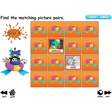 K and B Interactive Sight Word Sentence Frames IWB Software, Sup Splash, Grades Kindergarten - 2nd