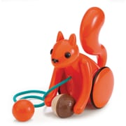 Kid O Products Nutty Squirrel Pull Toy