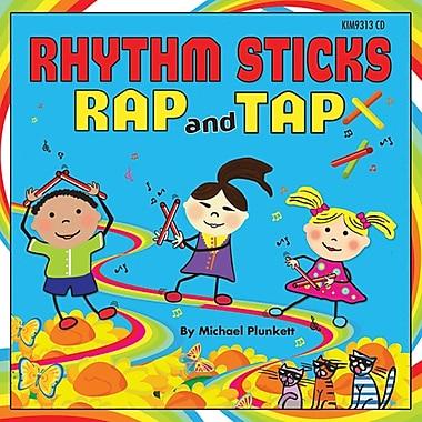 Kimbo Educational® Rhythm Sticks Rap & Tap CD