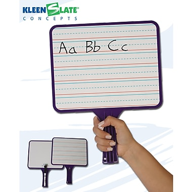 Kleenslate® Whiteboard Rectangular Paddle, 10in. x 8in.