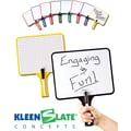 Kleenslate® Graph Whiteboard Rectangular Paddle, 10in. x 8in.