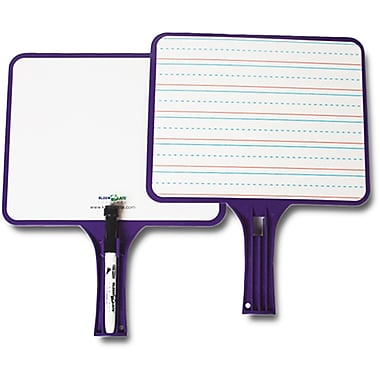 Kleenslate® Rectangular Dry Erase Paddle Paddle, 13in.