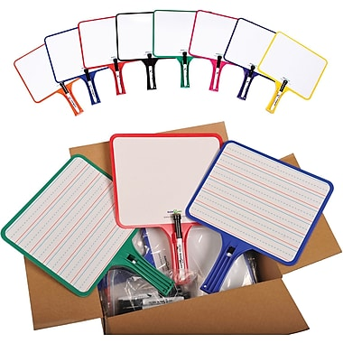 Kleenslate® Rectangular Dry Erase Paddle Paddle