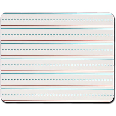 Kleenslate® Manuscript Lined Rectangular Replacement Dry Erase Sheets, 10in. x 8in.