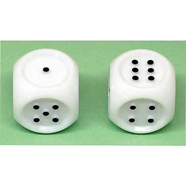 Koplow Games Jumbo Tactile Dice Set Of 2, Grades Pre-School - Kindergarten+