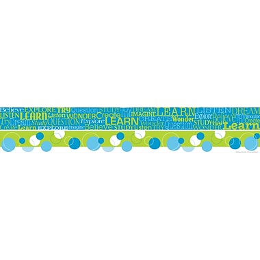 BARKER CREEK & LASTING LESSONS P - 12th Grades Straight Double-Sided Trim, Italy - Fiori Bellissimi