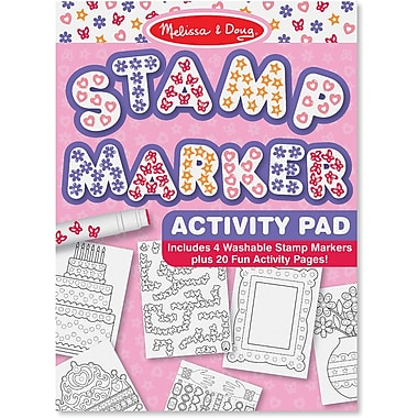 Melissa & Doug® Stamp Marker Activity Pad, Pink