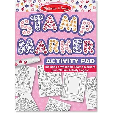 Melissa & Doug® Stamp Marker Activity Pad, Pink
