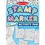 Melissa & Doug Stamp Marker Activity Pad, Blue