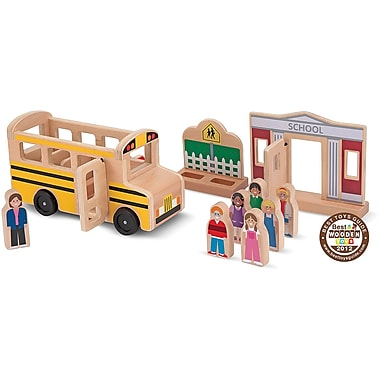 Melissa & Doug® Whittle world'school Bus Set