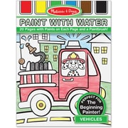 Melissa & Doug® Paint With Water Kids' Vehicles Art Pad