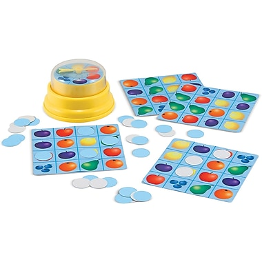 Melissa & Doug® Press & Spin Game, Picture Bingo