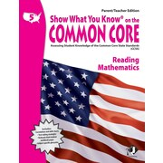 Milliken & Lorenz Educational Press Parent Teacher Edition Common Core Reading Book, Grades 5th