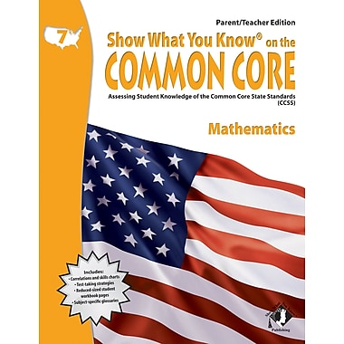 Milliken & Lorenz Educational Press Common Core Show What You Know Reading Maths Book, Grades 7th