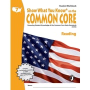Milliken & Lorenz Educational Press Common Core Show What You Know Reading Student Book, Grades 7th
