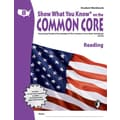 Milliken & Lorenz Educational Press Common Core Show What You Know Reading Student Book, Grades 8th