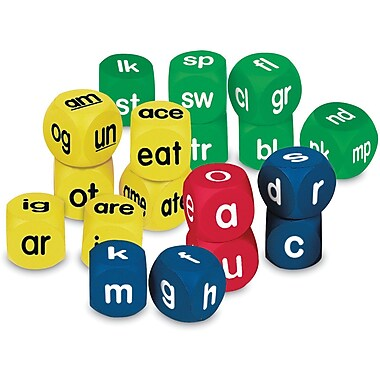 Learning Resources® Phonics Cubes Class Set, Grades Pre Kindergarten - 3rd