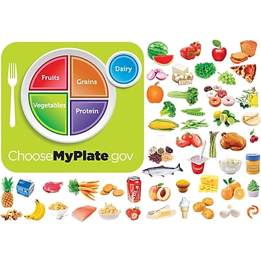 Little Folk Visuals® Flannelboard Set, MyPlate