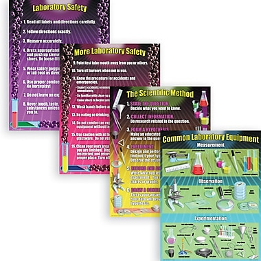 McDonald Publishing® Poster Set, Science Lab Essentials
