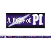 McDonald Publishing® 4th - 9th Grades Straight Bulletin Board Border, A Piece Of Pi
