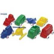 Miniland Educational® Minimobil Set, 8 Pieces