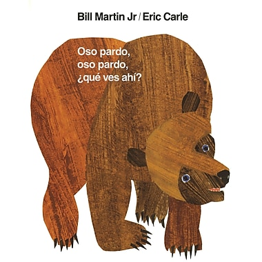 Macmillan Brown Bear Oso Pardo, Que Ves Ahi Book